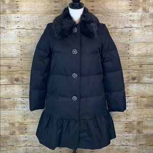 NWT Kate Spade Embellished Puffer Coat size 0